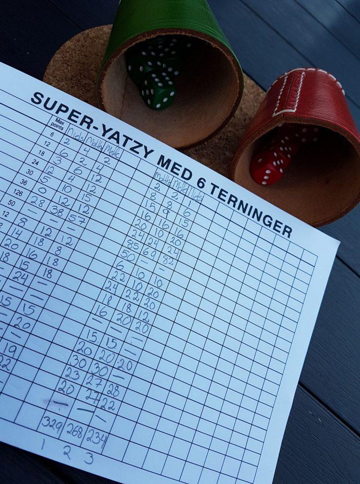 yatzy med 6 terninger